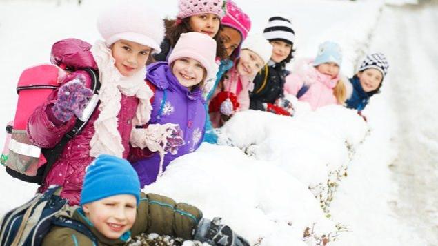 Test av vinterjackor till barn