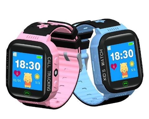 Smartklocka med simkortplats och GPS för barn