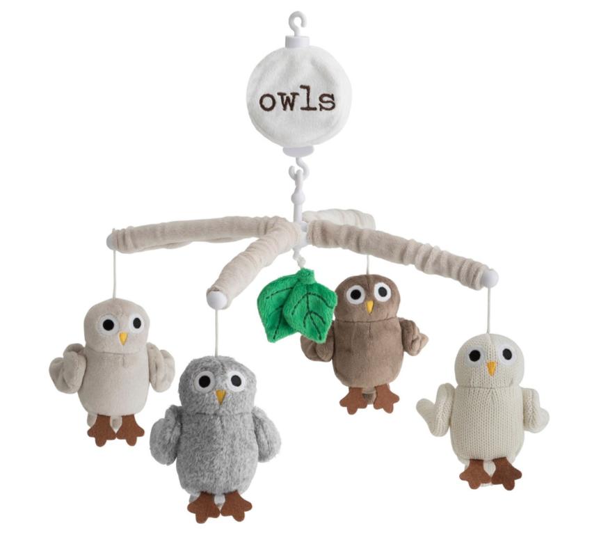 Rätt Start Baby Owls Mobil med Musik
