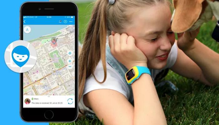 Test av GPS-klockor för barn