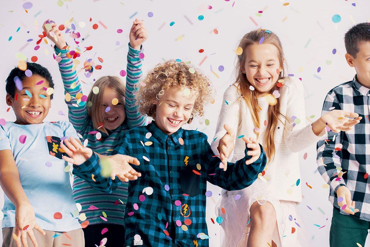 Fira nyår med barn